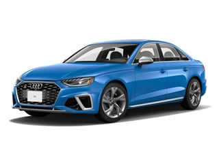 2021 Audi S4 Sedan Turbo Blue